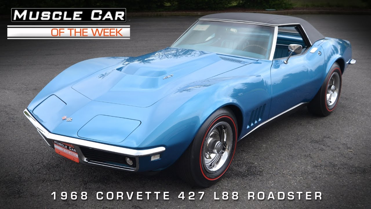 Muscle Car Of The Week Video 41 1968 Chevrolet Corvette