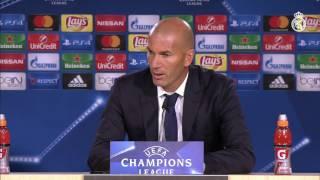 Zidane analiza el debut en Champions trás la épica victoria ante el Sporting CP