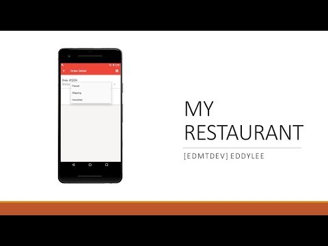 Android Development Tutorial - My Restaurant part 29 Create Order Need Ship thumbnail