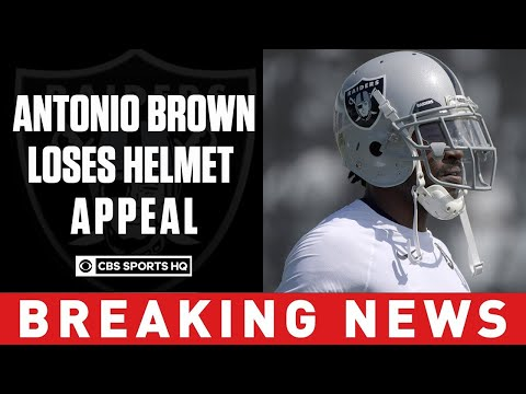 Jonny Hartwell - NFL: Antonio Brown Can Keep His Helmet, But There's A Catch