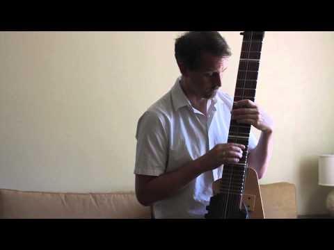 Gene Perry: Chapman Stick Performing Quiet Nights of Quiet Stars  Jobim  Lees