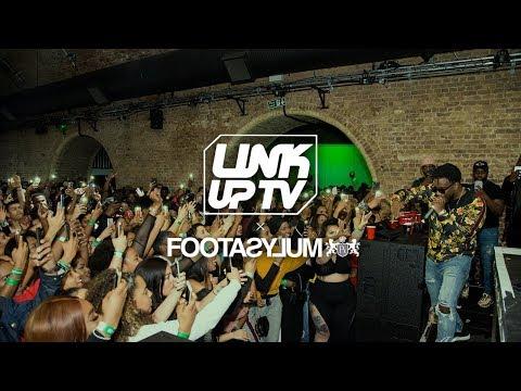 Maleek Berry, Sneakbo & Headie One at Link Up TV x Footasylum Party