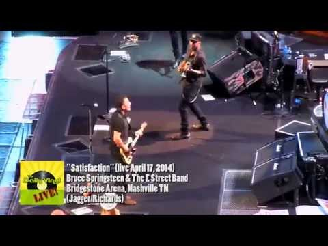 Bruce Springsteen - Satisfaction Rolling Stones Cover live Nashville 2014 (TheDailyVinyl official)