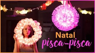 3 DIY INCRÍVEIS com PISCA-PISCA para o NATAL thumbnail