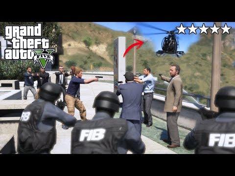 GTA 5|EMB0SCADA - N0S ATRAPA EL FBI Y LA SWAT - MICHEL|EdgarFtw thumbnail