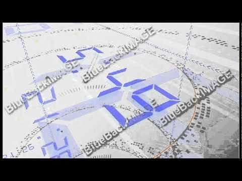 映像素材 動画素材 デジタル データ Digital Space Caposted by perenizezyq