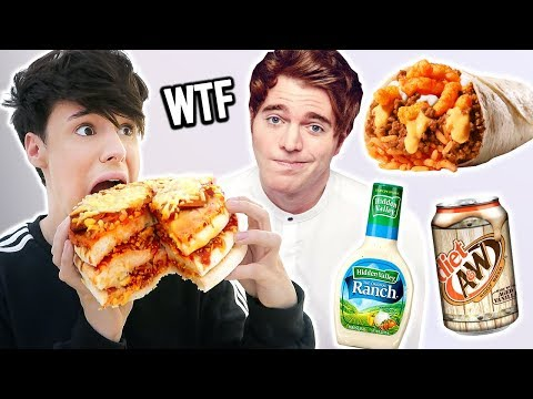 i ate like SHANE DAWSON for a day
