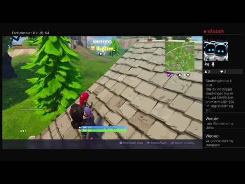 Fortnite stream playing new uppdate with friends Survivors of tilted