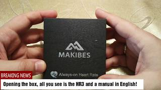 Baixar Review of the Makibes HR3 wearable