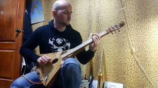 Эльфийский Музыкальный инструмент ТАУРИЭЛЬ... сделанный своими руками. Stick dulcimer Homemade...