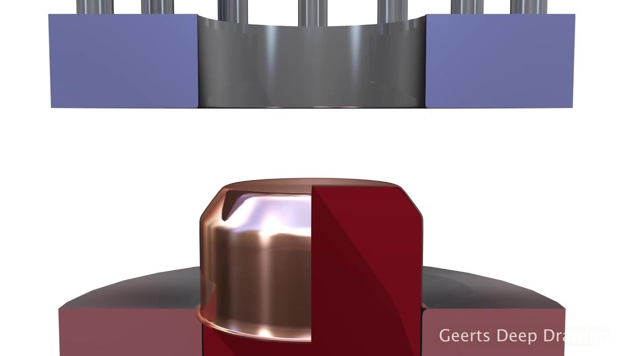 Bardzo dobry Głębokie tłoczenie - zasada działania więcej na: www.metal-trade JQ76