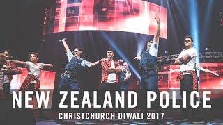 New Zealand Police performance   Christchurch Diwali 2017   Bollywood Dreams