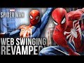 NEW Free Roam/Open World WEB-SWINGING GAMEPLAY For Spider-Man PS4!