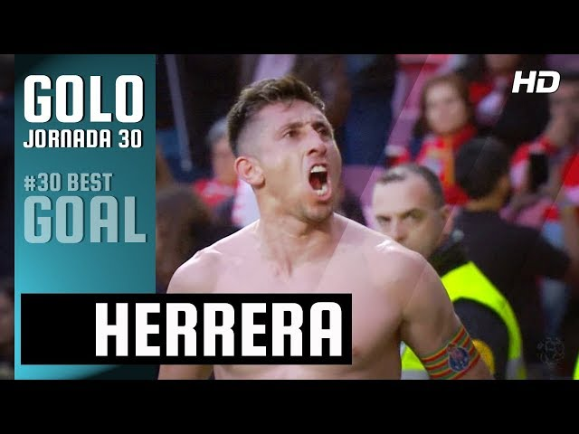 Golo de Herrera: Benfica 0-(1) FC Porto (Liga 30ªJ)