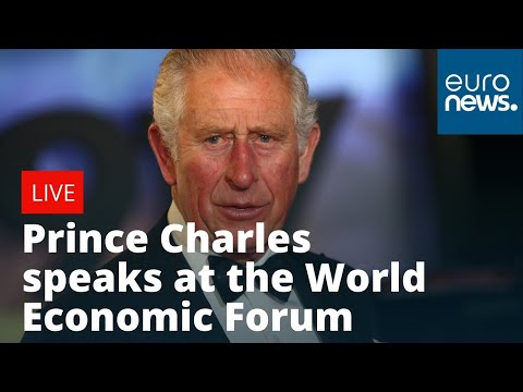 Prince Charles speaks at the World Economic Forum | LIVE