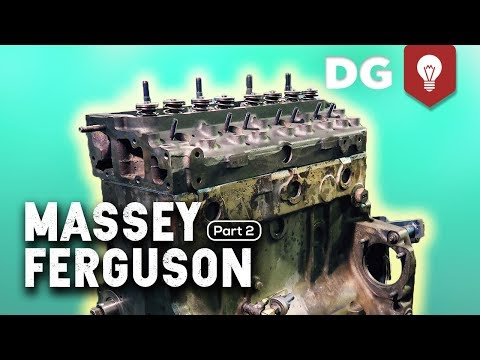 3.9 Perkins 4-cyl Dry Sleeve Engine Rebuild | Massey Ferguson 270 [EP2]