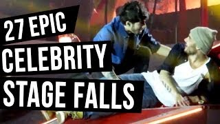 27 Celebrity Falls That Will Make You Cringe Video