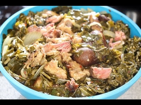 How to Cook Collard Greens With Ham Hocks Recipe