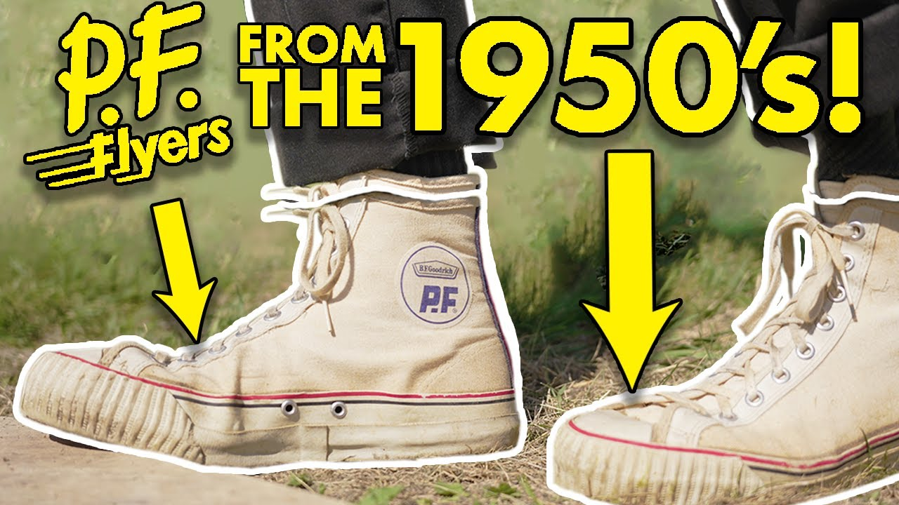 Download What's Inside 70 Year Old PF Flyers? (CUT IN HALF)
