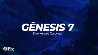 """2021-02-07 -""""Deus preserva os justos"""" Gn. 07 - Rev. André Carolino - Transmissão Matutina"""