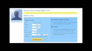Healthy Weight Calculator - 3. How to Create your Weight Loss Goal