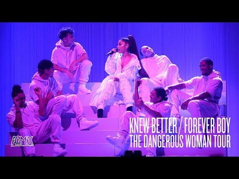Ariana Grande - Knew Better / Forever Boy (Live at The Dangerous Woman Tour) [North American Leg]