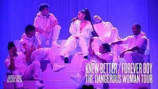 Обложка Ariana Grande Knew Better Forever Boy Live At The Dangerous Woman Tour North American Leg