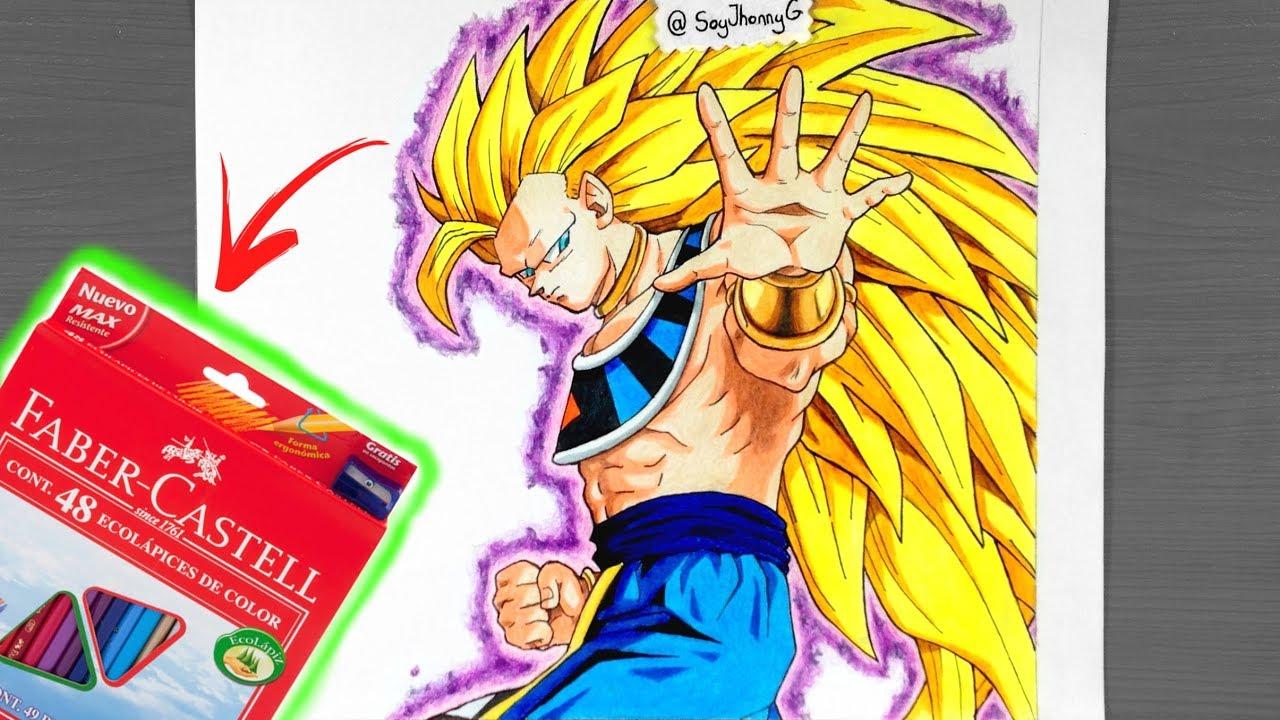 Todas Las Fases De Goku Para Colorear: Bardock Ssj Para Colorear