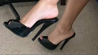 Sandalias Negras Para Mujer
