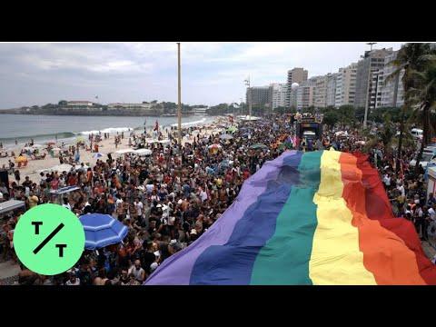 Despite  Bolsonaro Criticism, Millions Turn Out For Brazil's Gay Pride Parade