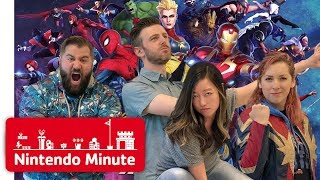 MARVEL ULTIMATE ALLIANCE 3: The Black Order w/ Strawburry17 & Matt from SMOSH - Nintendo Minute