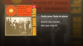 Suite pour flute et piano (Baroque And Blue)