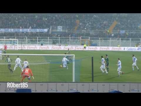 Pescara 1-3 Sassuolo la papera di Bizzarri 22-1-2017