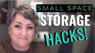 How to Handle SMALL SPACE STORAGE Like a BOSS! Full-Time RV, Van or Tiny House Storage Hacks.