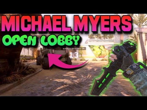 MICHAEL MYERS AND CUSTOM GAMES OPEN LOBBY!!! ROAD TO 1.6K SUBS!!! BLACK OPS 3 MULTIPLAYER?