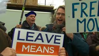 Britain in Political Chaos as Embattled PM Pulls Brexit Vote
