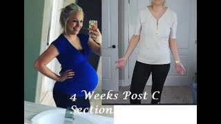 4 Weeks Postpartum! Weight Update, What My Tummy Looks Like, Birth Control Plans!