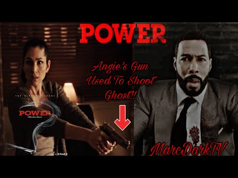 POWER SEASON 6 ANGELA'S GUN WAS USED TO SHOOT GHOST!!!