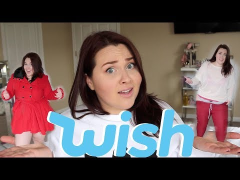WISH APP Plus Size Try-On Haul!