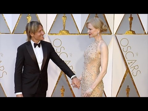 Nicole Kidman and Keith Urban 2017 Oscars Red Carpet