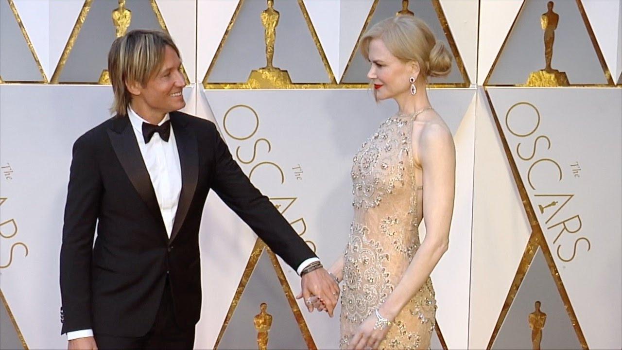 Nicole Kidman Balenciaga Wedding Dresses: Nicole Kidman And Keith Urban 2017 Oscars Red Carpet