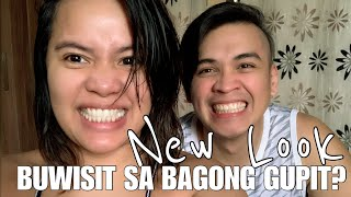 SHORT HAIR NA ULIT AKO | QUARANTINE HAIRCUT | DJ CHACHA