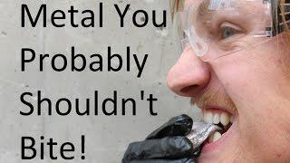 Biting Sodium Metal?!?!