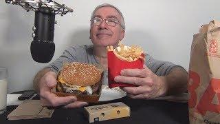 ASMR Eating McDonald's Double Quarter Pounder Whispering