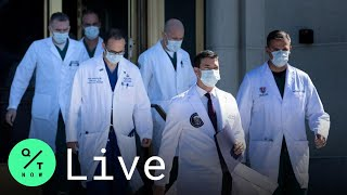LIVE: White House Doctors Give Update on Trump's Health at Walter Reed