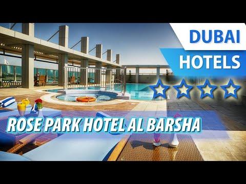 Rose Park Hotel Al Barsha 4 ⭐⭐⭐⭐ | Review Hotel In Dubai, UAE