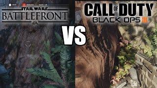Black Ops 3 vs Star Wars BattleFront GRAPHICS (Star Wars Battlefront XB1 vs Black Ops 3 PS4)