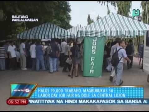 Halos 19,000 trabaho, magbubukas sa Labor Day Job Fair ng DOLE sa Central Luzon