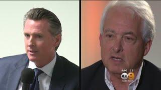 Newsom, Cox Spar In First And Only Calif. Gubernatorial Debate