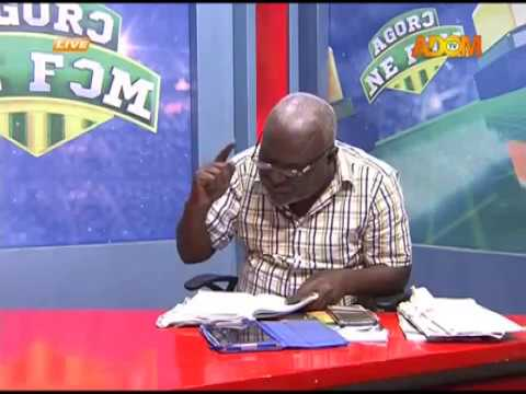 Matters arising in Ghana's Football Association - Agoro Ne Fom on Adom TV (14-12-17)